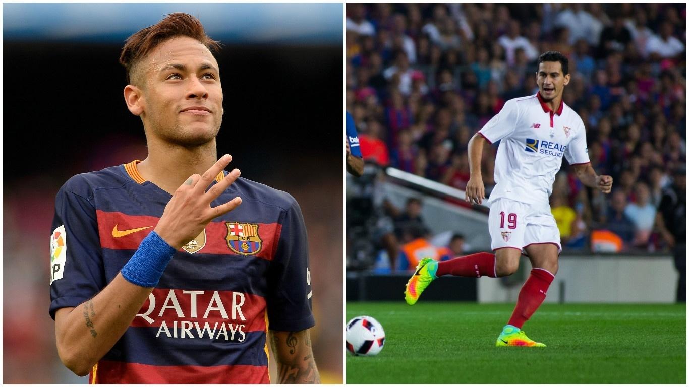 Grandes amigos, Neymar e Ganso vão se enfrentar na Espanha