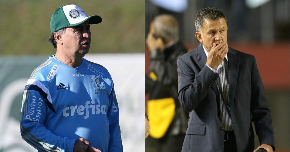 Marcelo Oliveira e Juan Carlos Osorio comandam Palmeiras e São Paulo, respectivamente