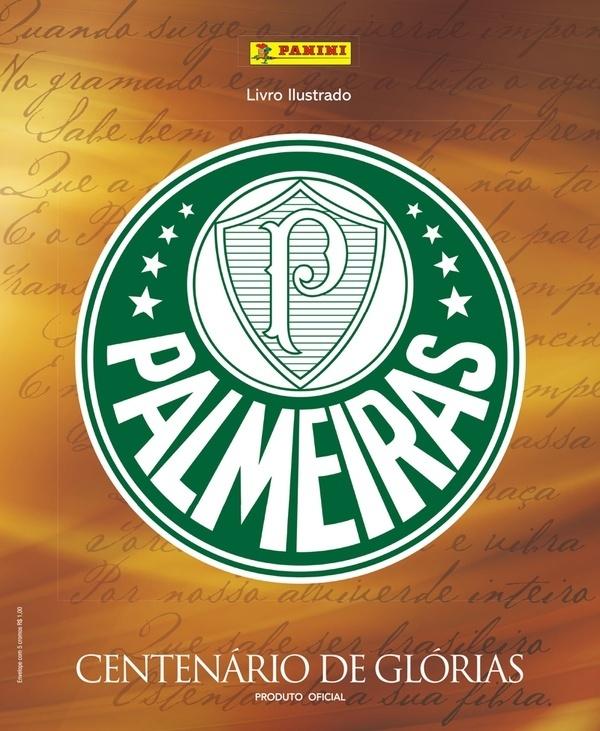 Palmeiras divulga imagem de álbum de figurinhas lançado em comemoração ao centenário do clube