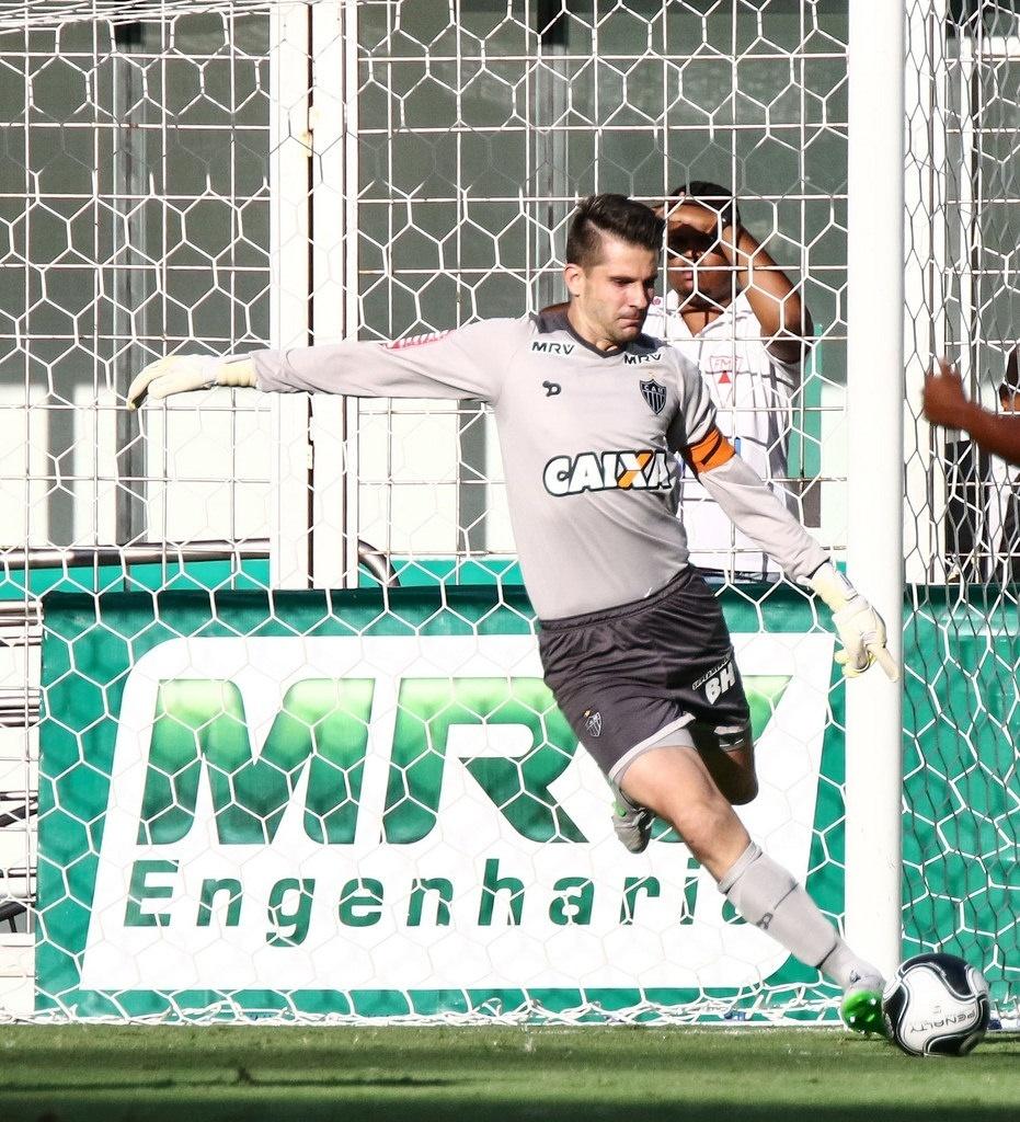 Victor voltou a jogar exatamente um mês depois de sua última partida pelo Atlético-MG