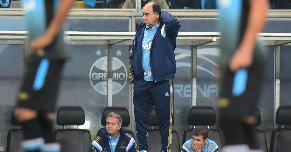 Marcelo Oliveira faz sua estreia como treinador do Palmeiras