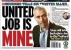 Mourinho diz a amigos que assumirá Manchester United, afirmam jornais