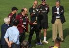 Após derrota, diretoria do SP se reúne com elenco antes do treino
