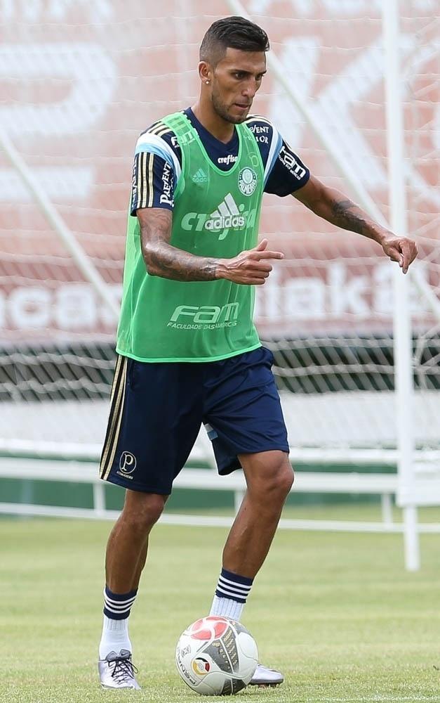 Rafael Marques passou a integrar o elenco do Palmeiras a partida da metade da pré-temporada
