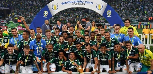 Campeão brasileiro de 2016, Palmeiras domina a seleção do campeonato eleita pela CBF