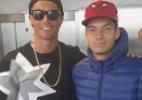 Rapper que conquistou CR7 vibra com homenagem do Vasco: 'Fiquei amarradão'