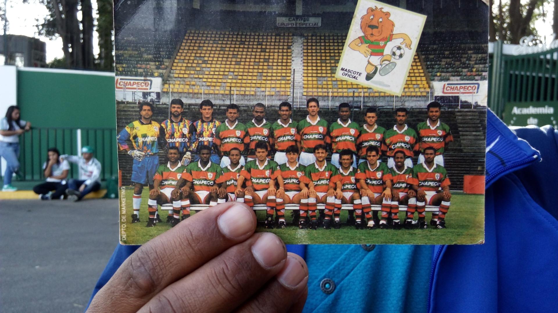 Claudinho Zé Roberto Portuguesa 1995 time