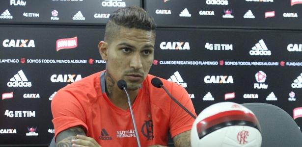 Último gol do peruano Paolo Guerrero pelo Flamengo faz quase dois meses
