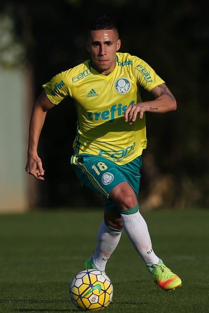 Gabriel volante Palmeiras treino