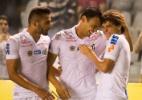 Na volta de trio olímpico, Santos usa experiência para bater o Vasco
