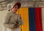 Esgrimista da equipe brasileira superou sequelas de Chernobyl para brilhar