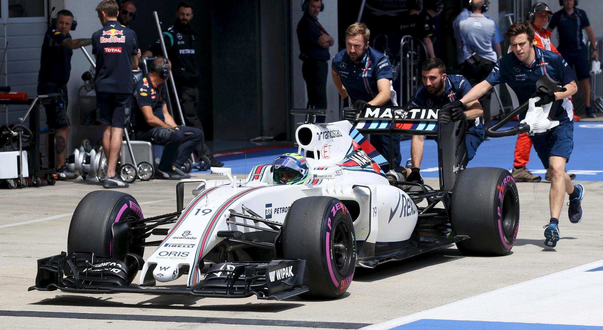 Felipe Massa teve desempenho ruim na Áustria