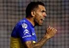 Tevez pede licença de treinos para se recuperar de eliminação do Boca - REUTERS/Marcos Brindicci