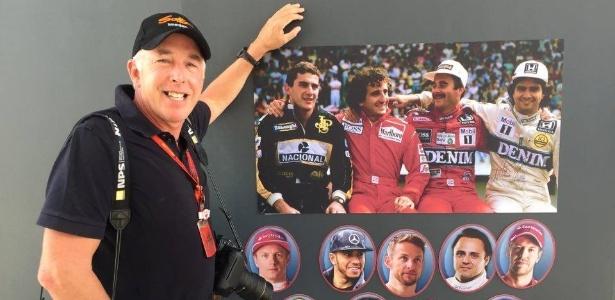 Fotógrafo conta a história da foto em que Senna, Prost, Mansell e Piquet posam no muro