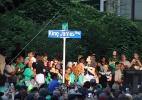 """Rua de cidade-natal de LeBron ganha nome """"Rei James"""" após título da NBA - @JR_MESS/Twitter"""