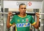 'Canelinha' do Vasco, Madson ganha massa muscular para evitar lesões