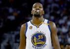 """Astros dos Warriors chamam derrota na estreia de """"tapa na cara"""" - Thearon W. Henderson/Getty Images/AFP"""