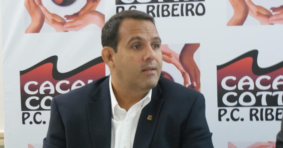 Candidato à presidência do Flamengo, Cacau Cotta alfinetou a gestão Bandeira