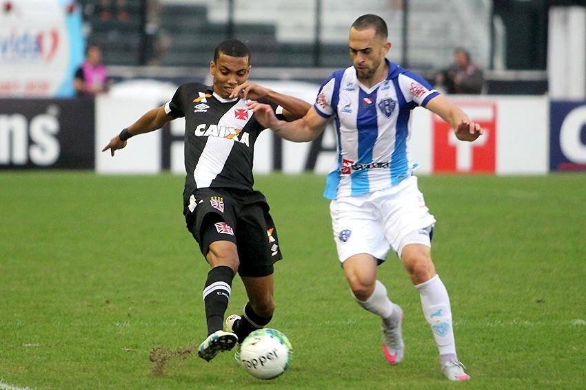 Vasco e Paysandu se enfrentam pela Série B