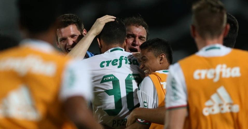 Cuca Palmeiras Santa Cruz abraço