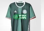 Palmeiras usará nomes de jogadores da Chape em despedida do Brasileiro