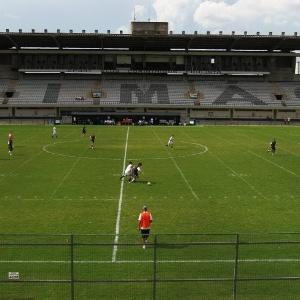 Área do Parque São Jorge conta com um estádio, que passou a ser utilizado pelos times de base