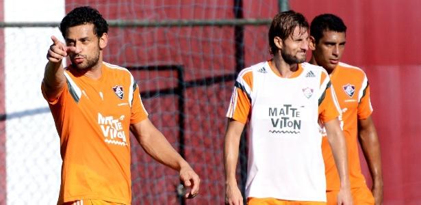 Ao lado de Fred, Henrique e Diego Souza estão entre os principais nomes do Fluminense