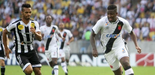 Atacante Thalles foi o herói da vitória do Vasco no Rio com dois gols marcados