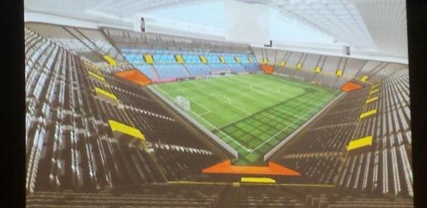 Estádio deve ser erguido em um terreno localizado na mesma região da Vila