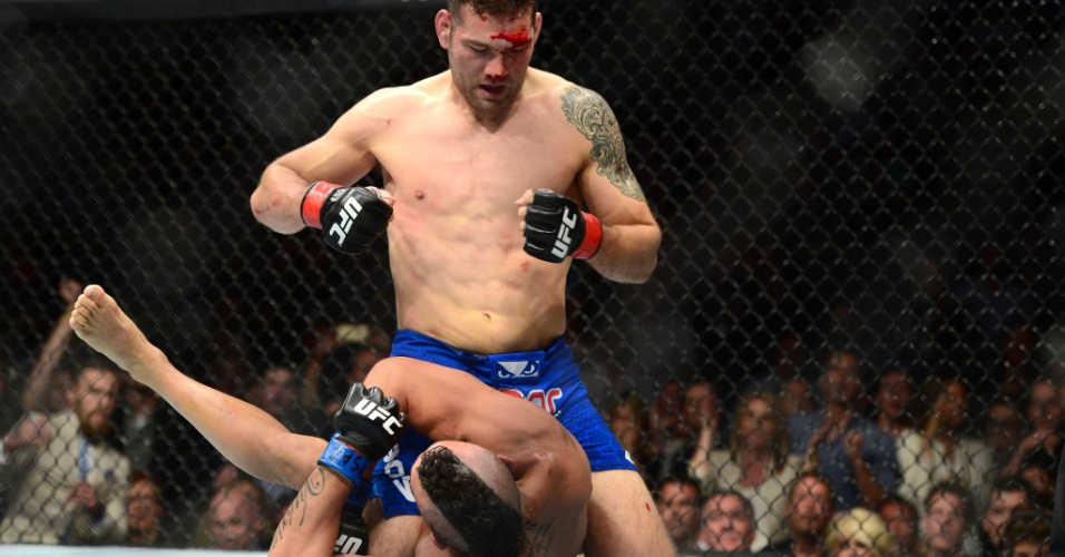 Vitor Belfort teve trabalho contra Chris Weidman no UFC 187, em Las Vegas