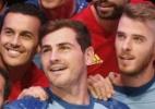 Espanha apresenta nova camisa. E Casillas fala grosso