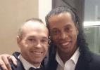 Ronaldinho crê que Neymar será melhor do mundo e fala em trabalhar no Barça - Reprodução / Twitter