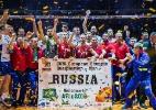 Algoz do Brasil em Londres, Rússia garante vaga no vôlei masculino em 2016 - / AFP / John MACDOUGALL