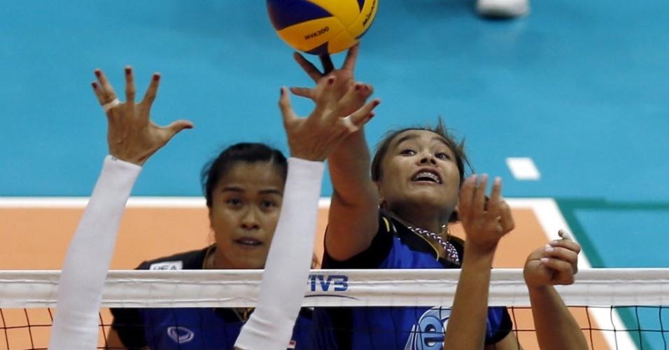 Onuma Sittirak tem 1,75m e foi o principal nome da Tailândia no jogo deste sábado