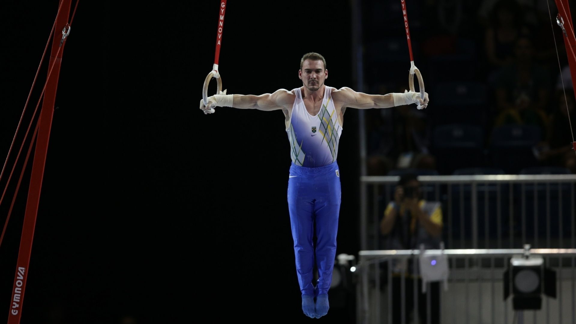 Arthur Zanetti conquistou a medalha de ouro nas argolas