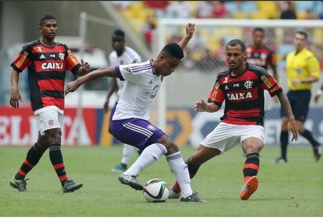 Flamengo e Orlando City-EUA disputaram amistoso festivo no Maracanã