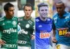 Quem se deu melhor em troca feita entre Cruzeiro e Palmeiras? - Arte UOL