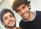 Kaká vem a São Paulo se recuperar de lesão e encontra ex-colega de time