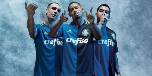 Camisa 3 Palmeiras azul