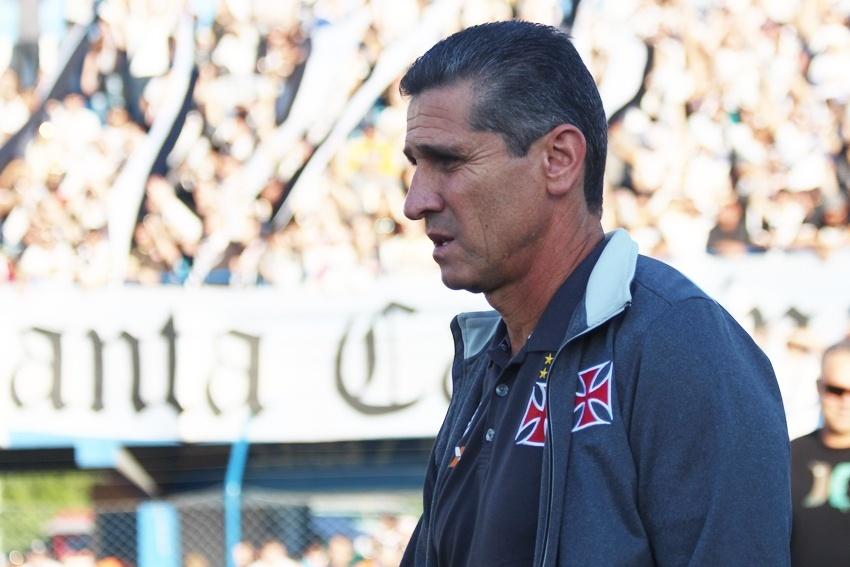 Jorginho, do Vasco, no jogo contra o Avaí