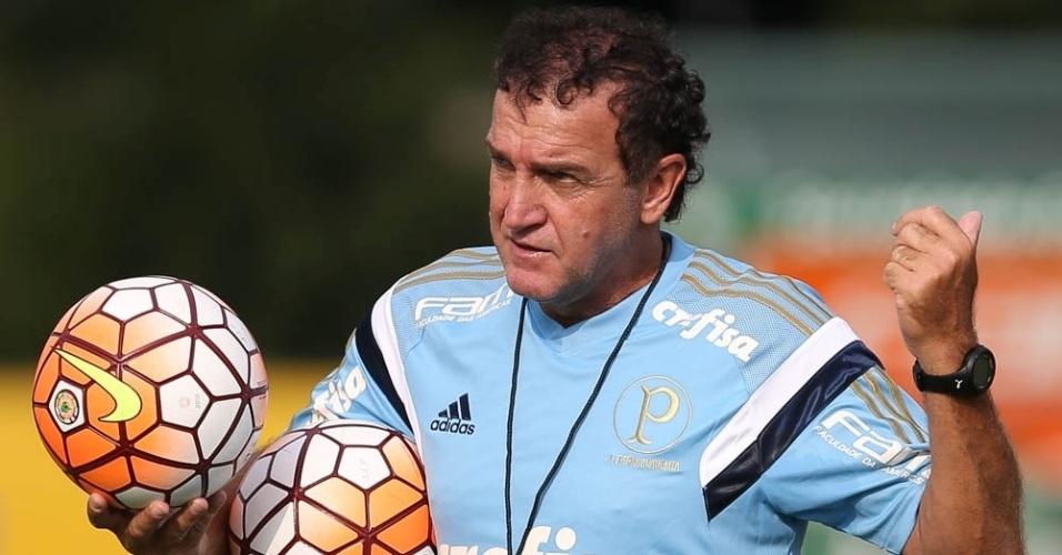 Cuca acertou com o Palmeiras dois dias depois da demissão de Marcelo Oliveira