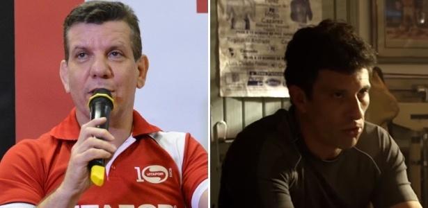 Dedé Pederneiras, treinador de José Aldo, é interpretado por Milhem Cortaz no filme que conta a história do lutador