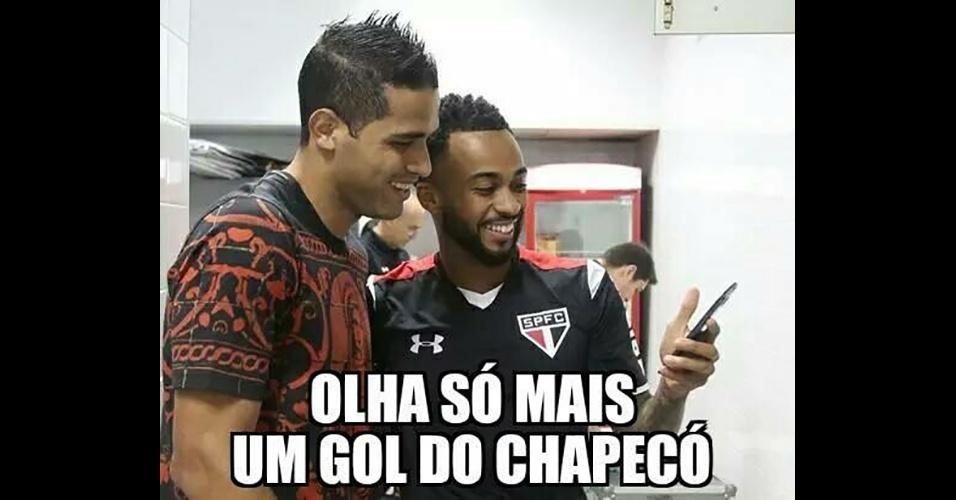 Goleada sofrida pelo Palmeiras gerou memes na internet