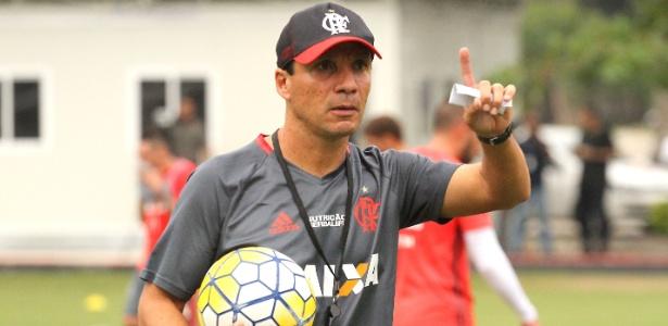 O interino Zé Ricardo vive os últimos momentos como técnico do Flamengo