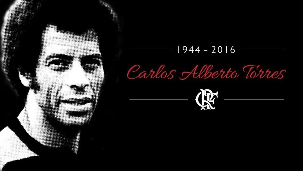 O Flamengo homenageou o Capitão do Tri em suas redes sociais. Luto decretado no clube