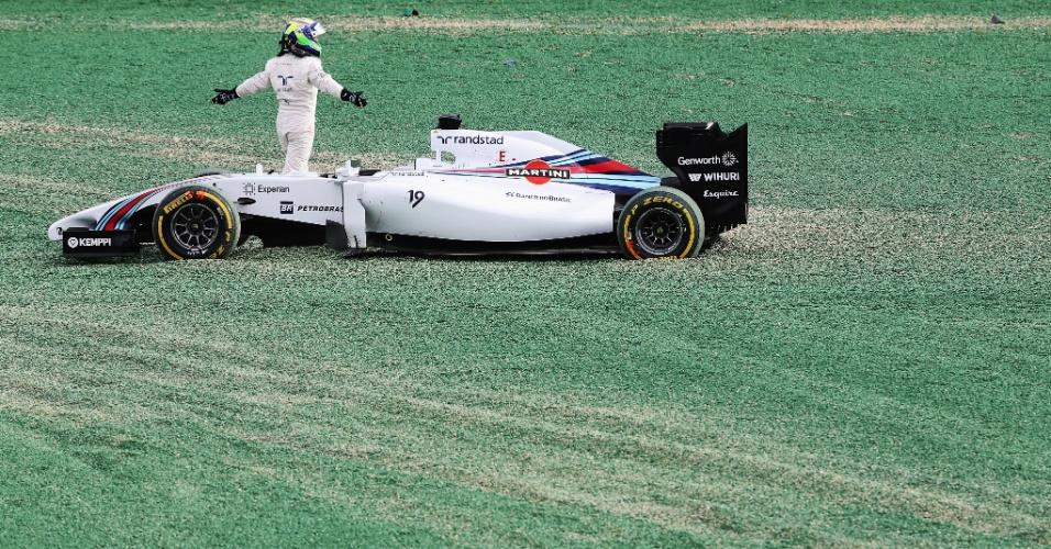 No dia 16 de março de 2014, Massa fez a sua estreia pela Williams