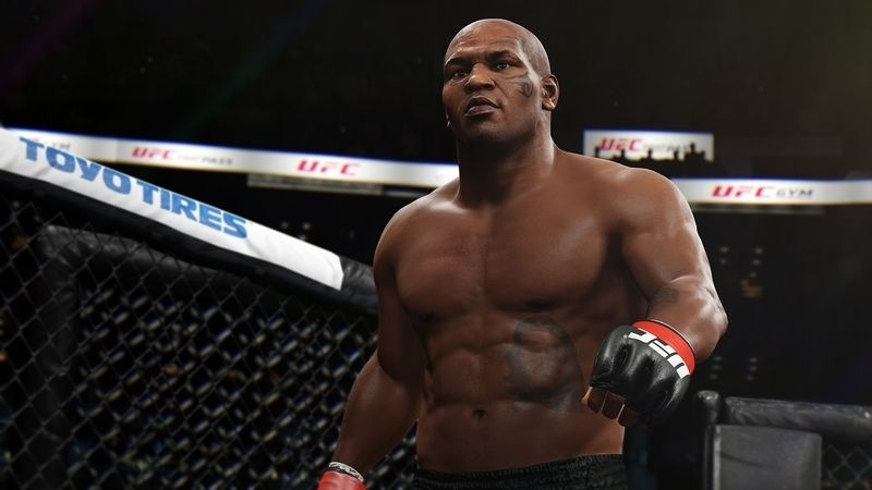Mike Tyson no game UFC 2