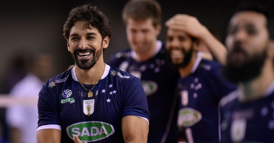 Filipe, jogador do Sada Cruzeiro