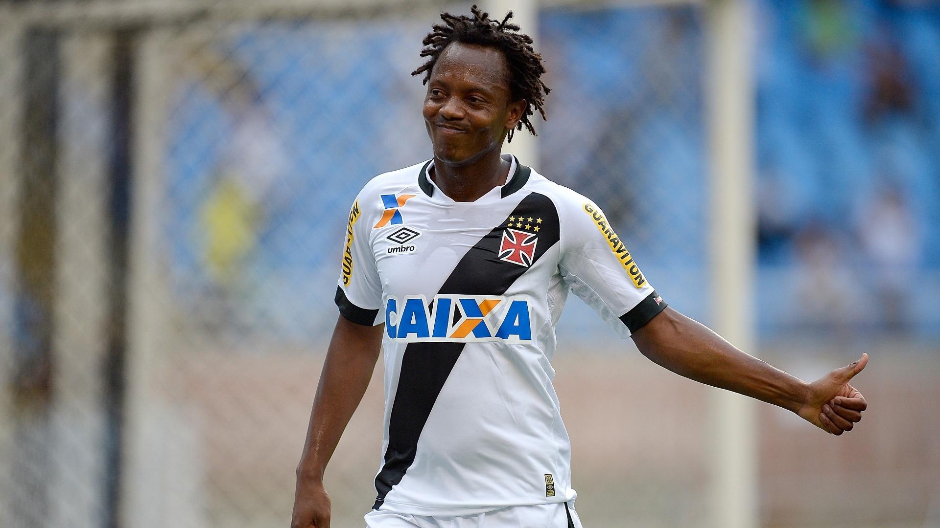 Andrezinho, do Vasco, em partida contra o Fluminense