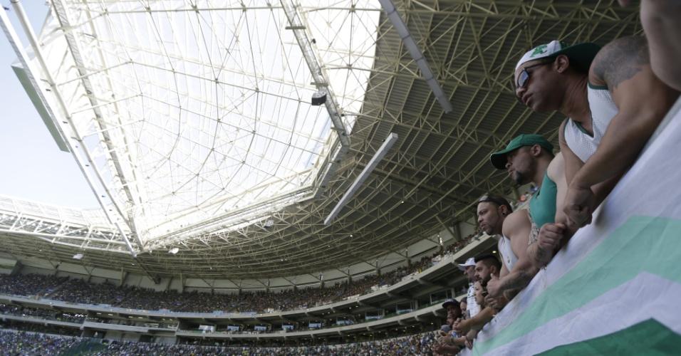 A grande presença de público tornou-se uma das marcas do Allianz Parque
